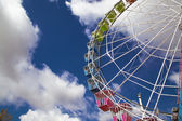 Cages of ferris wheel against Sky — Stock Photo