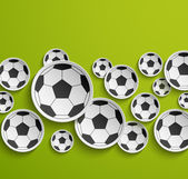 Football abstract background. — Stock Vector
