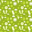 Summer seamless pattern. — Stock Vector