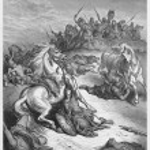 Постер, плакат: The death of Saul