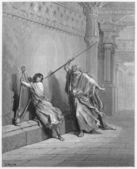 Saul and David — Stock Photo