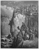 Slaughter of the Baal prophets — Stock Photo