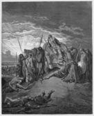 The death of Ahab — Stock Photo