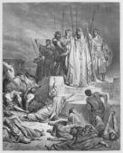 The Famine in Samaria — Stock Photo