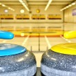 Curling-Steine — Stockfoto