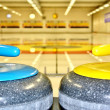 Foto de Stock  : Curling Stones