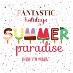 Summer holiday illustration — Stock Vector #50296761