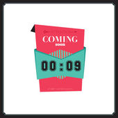 Coming soon tag — Stock Vector