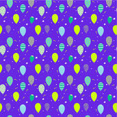 Happy birthday pattern in a nice style with place for text — Stock Vector