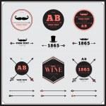 Vintage design geometric elements — Stock Vector #50831845