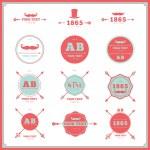 Vintage design geometric elements — Stock Vector #50831919