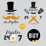 Big set of restaurant and cafe menu design, — Stock Vector #50835613