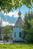 Church shop Trinity Church city Pushkino Moscow region — Stockfoto