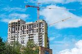 Construction of residential houses Pushkino Moscow region — Stockfoto