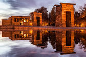 Temple of Debod, Madrid — Stock Photo
