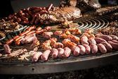 Large barbecue — Stock Photo