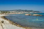 Sitges beach — Stock Photo