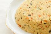 Couscous cake — Stock Photo