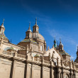 Pilar Cathedral, Zaragoza - Stock Photo