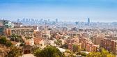 Barcelona Skyline — Stock Photo