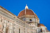 Duomo di firenze al crepuscolo — Foto Stock