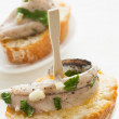 Stock Photo: Anchovy tapas
