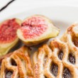 Lattice pastry — Stock Photo