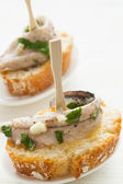 Anchovy tapas — Stock Photo