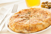 Tortilla de patatas — Stock Photo
