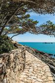 Costa Brava pathway — Stock Photo