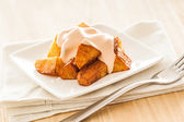 Patatas bravas — Stock Photo