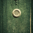 Mysterious door — Stock Photo