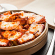 Galician octopus - Stock Photo