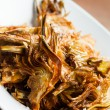 Fried artichoke — Stock Photo