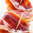 Stock Photo: Jabugo ham tapas