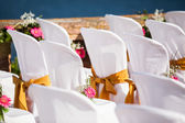 Sunny wedding — Stock Photo
