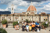 Uffizi musuem — Stock Photo