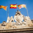 Sant Jaume square — Stock Photo
