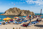 Blanes beach — Stock Photo