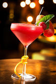 Strawberry daiquiri — Stock Photo