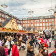 Plaza Mayor on Christmas — Stock Photo #33257743