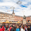 Plaza Mayor on Christmas — Stock Photo #33257853