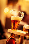 Belgian beer — Stock Photo