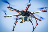 Drone flying — Stock Photo