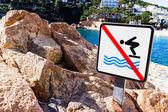 No swim — Stock Photo