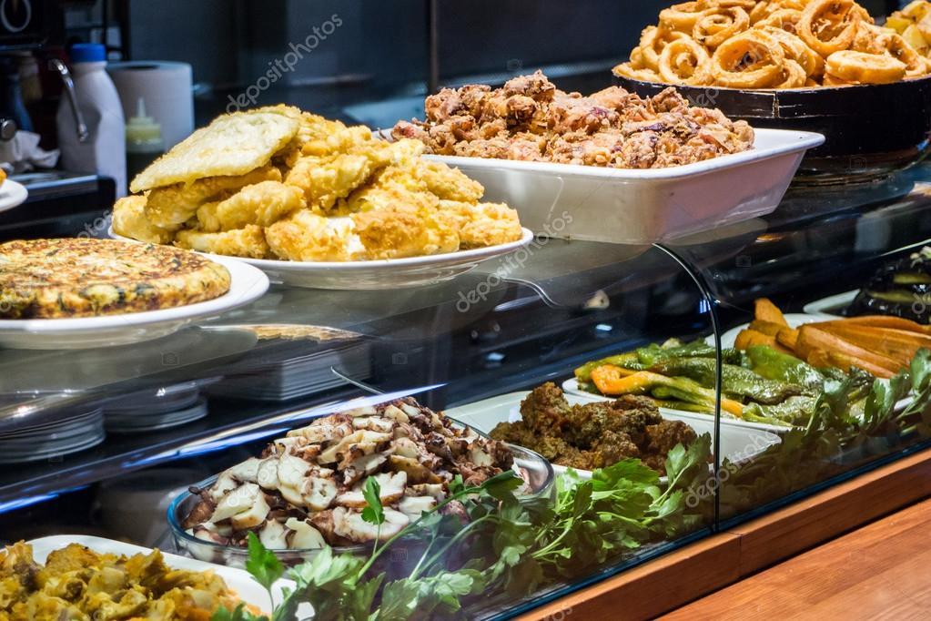 Prepared food stall � Stock Photo � alexsalcedo #42895113