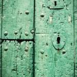 Green door. — Stock Photo #46192967