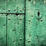Green door. — Stock Photo #46214155