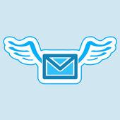 Mail symbol. — Stock Vector