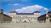 Turin, Italy - Royal palace — Stock Photo